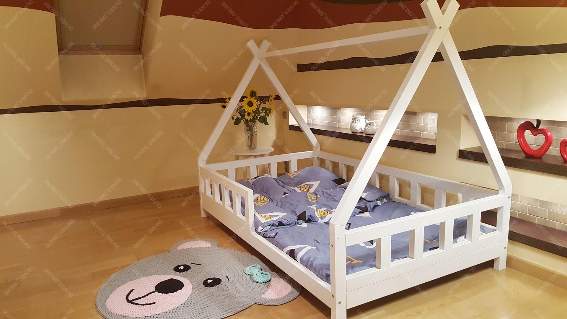 House Bed Tipi Lila 90 X 200cm Mon